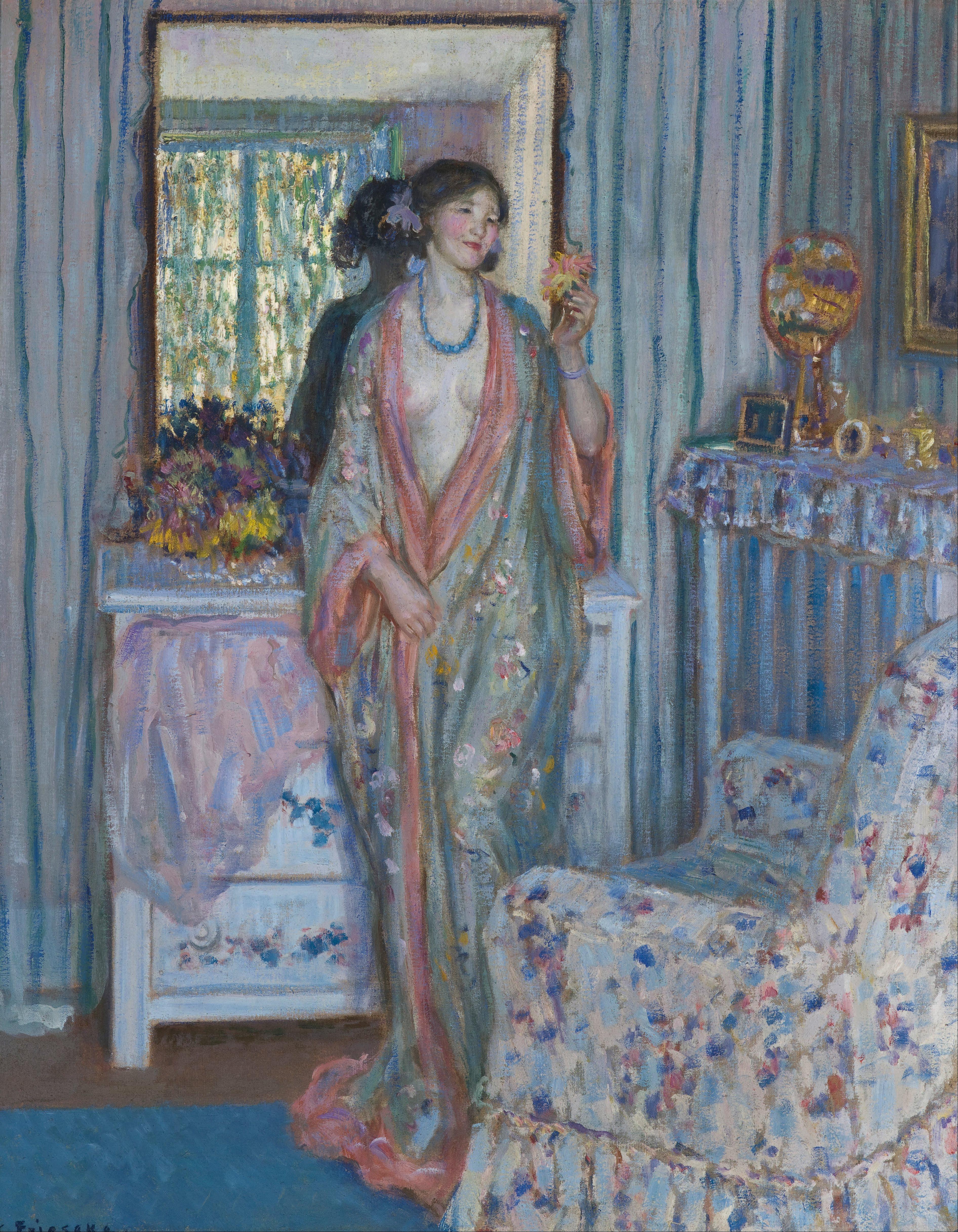File:Frieseke, Frederick Carl - The Robe - Google Art ...