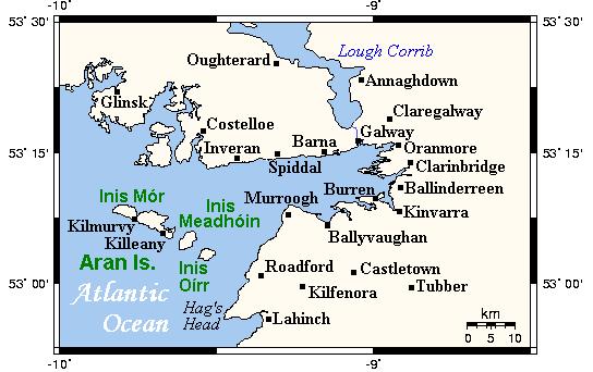Galway Islands Map