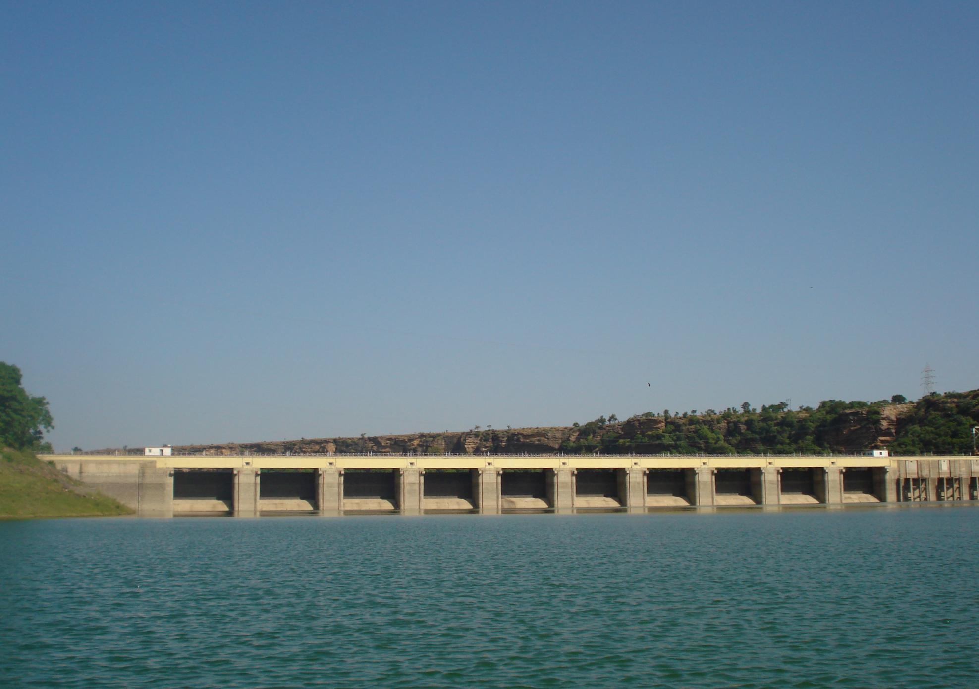 Dam to Dam 2009 Photos Gandhi Sagar Dam in 2009