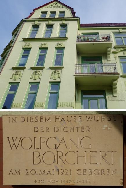 geburtshaus von wolfgang borchert tarpenbekstrae in hamburg eppendorf - Wolfgang Schuble Lebenslauf