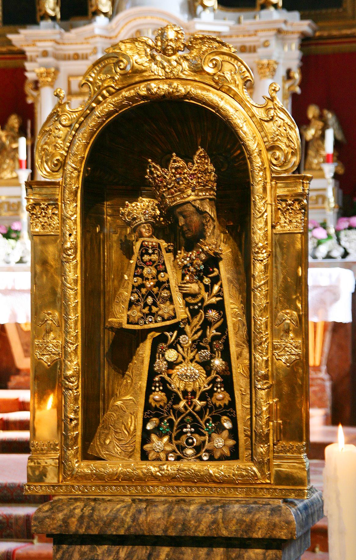 Gnadenbild der Gnadenkapelle Altötting