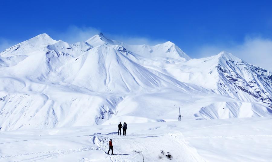 Ski trip in Gudauri