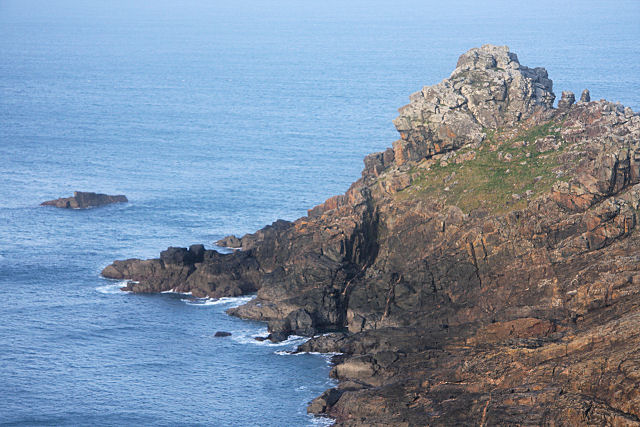 Gurnard's Head and Ebal Rocks - geograph.org.uk - 1110274