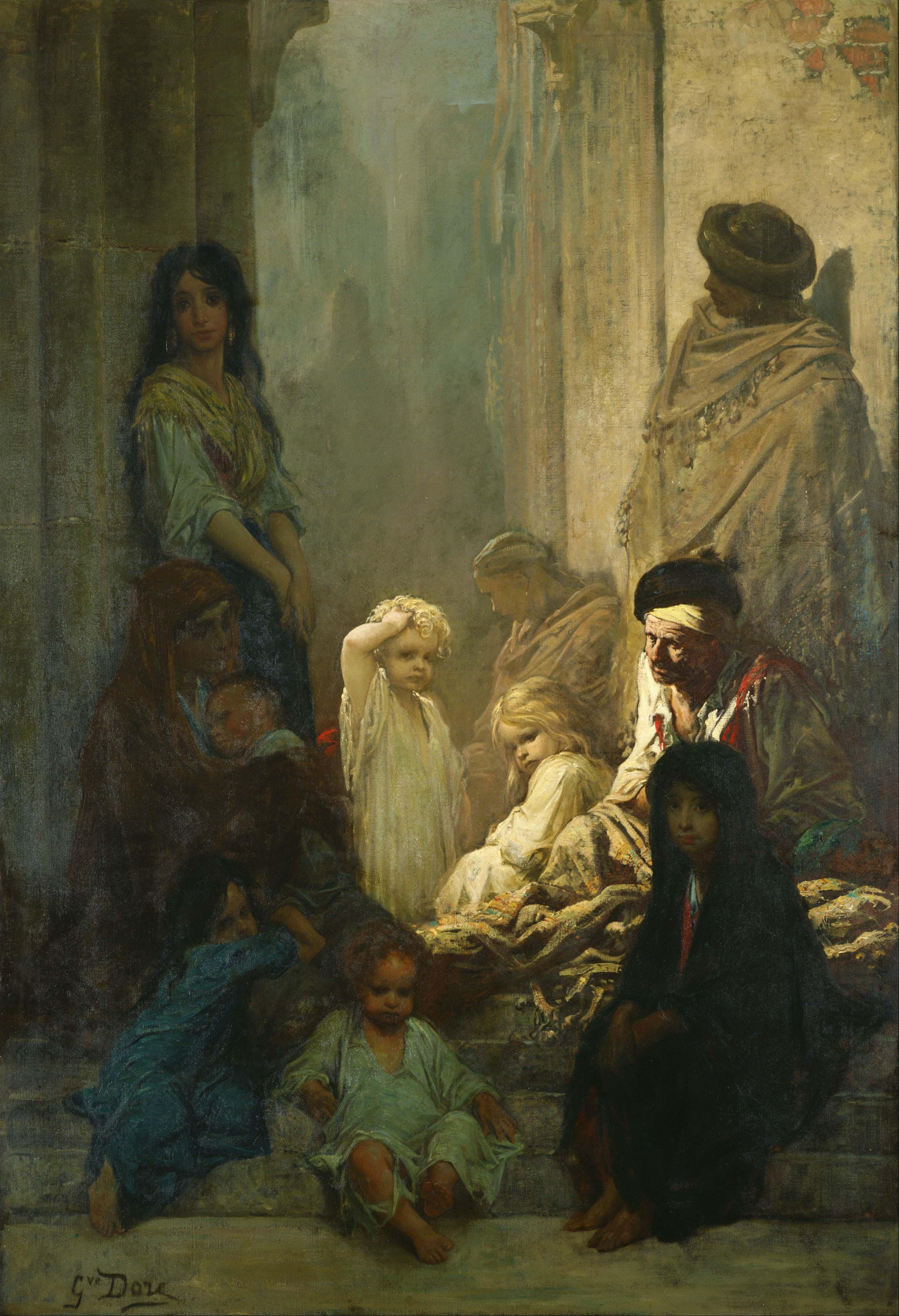 Gustave Dore Gustave_Dore_-_La_Siesta,_Memory_of_Spain_-_Google_Art_Project