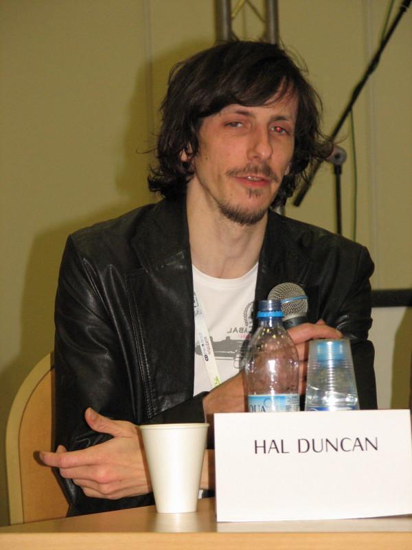 Hal Duncan Polcon 2007 JPGHal Havins