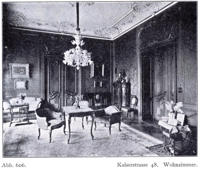 File:Haus Kaiserstraße 48 in Düsseldorf, erbaut durch Kayser & von ...