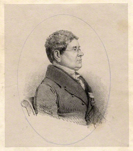 Sir Henry Ellis, 1836 lithograph by [[Henry Corbould