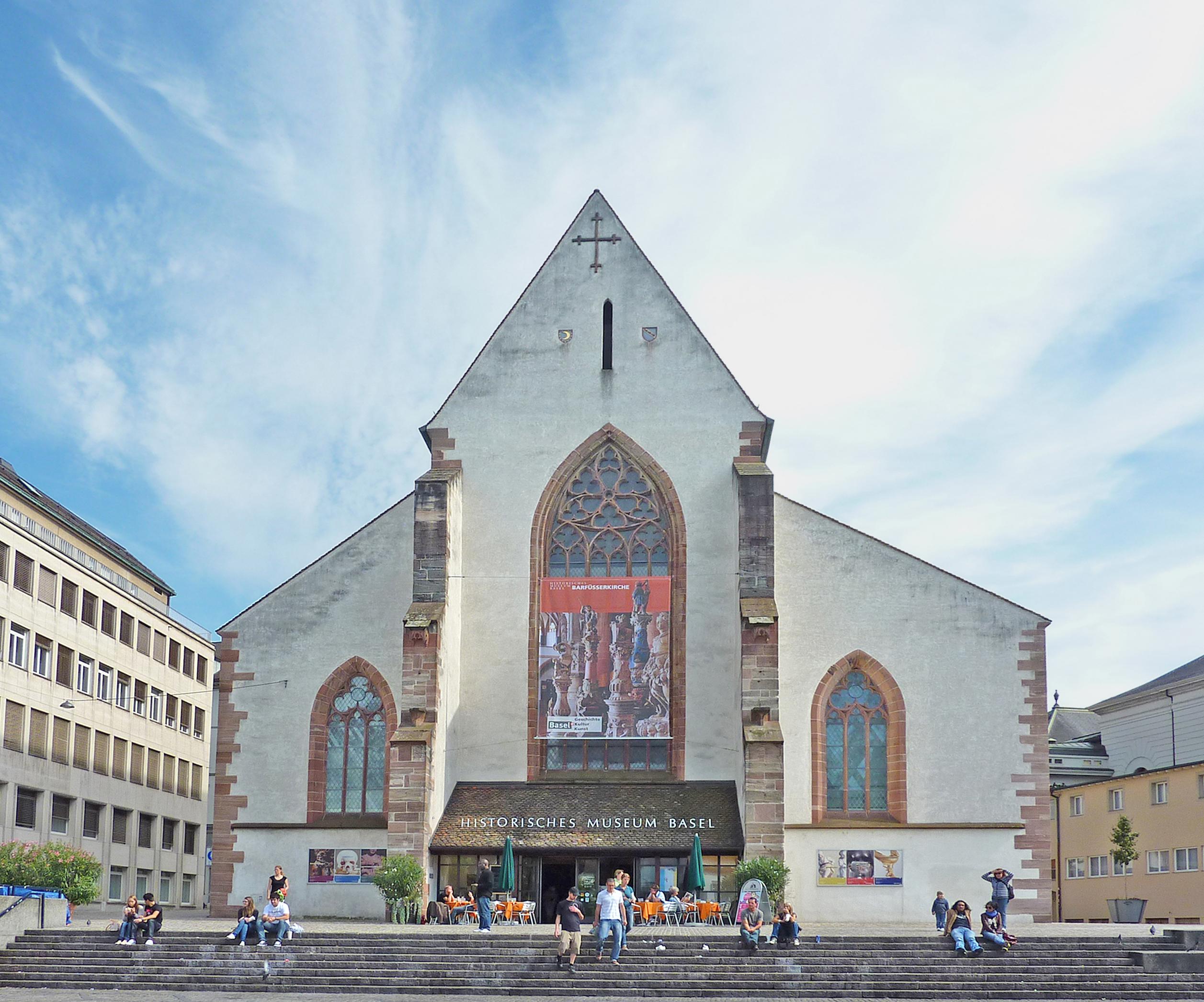 Basel Historical Museum - Barfüsserkirche.