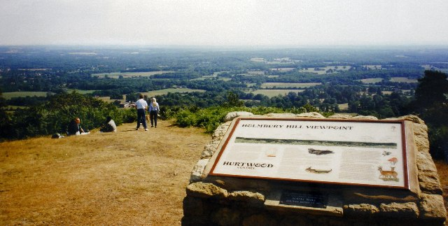 Holmbury Hill Viewpoint, Surrey - geograph.org.uk - 30484