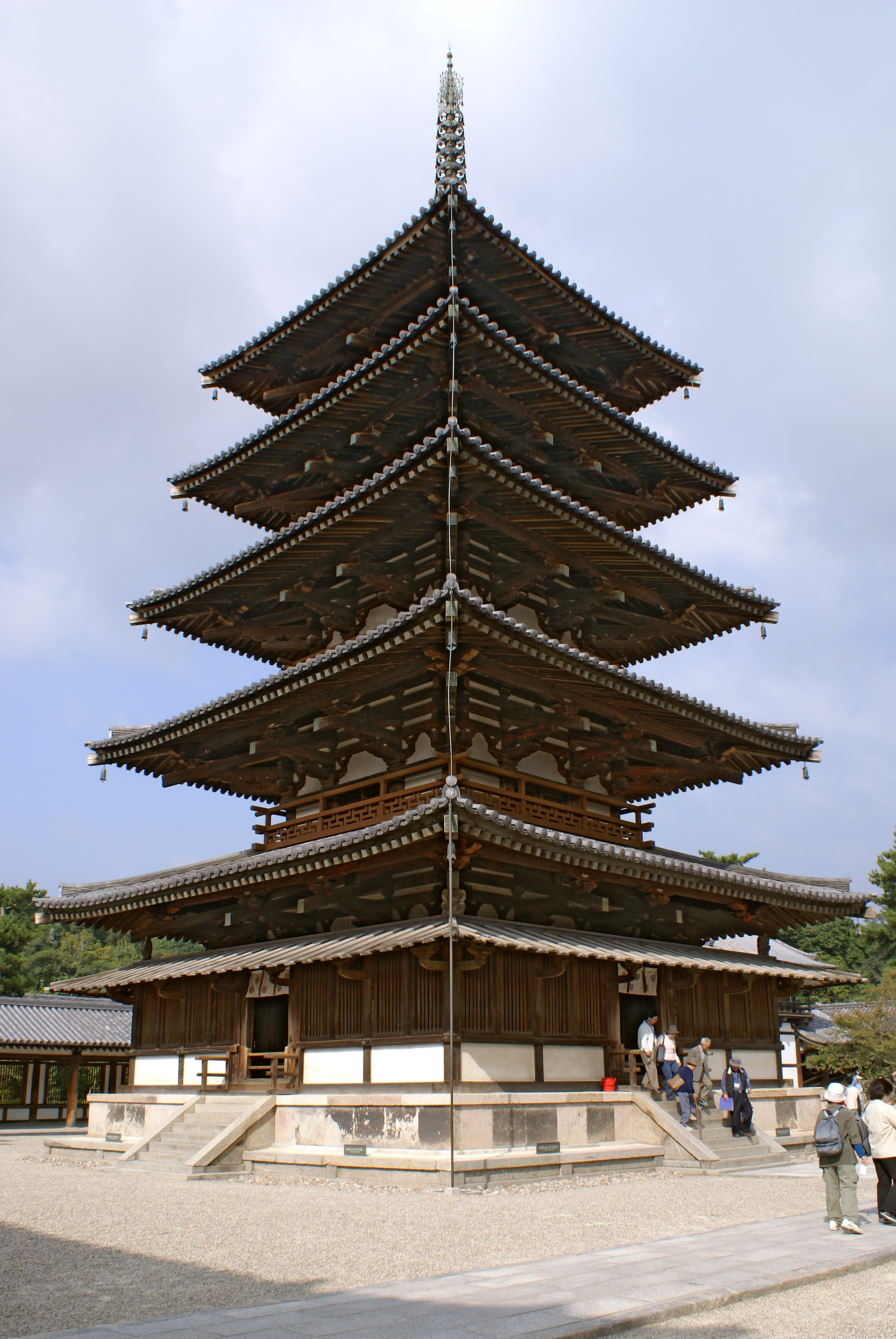 Image Gallery Japanese Pagoda Architecture