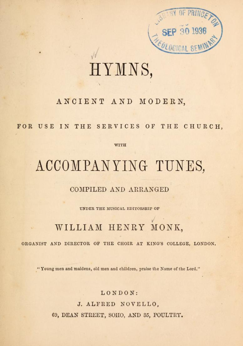 Hymns Ancient and Modern - Wikipedia