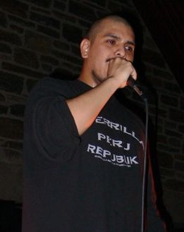 Immortal Technique performing at Haverford