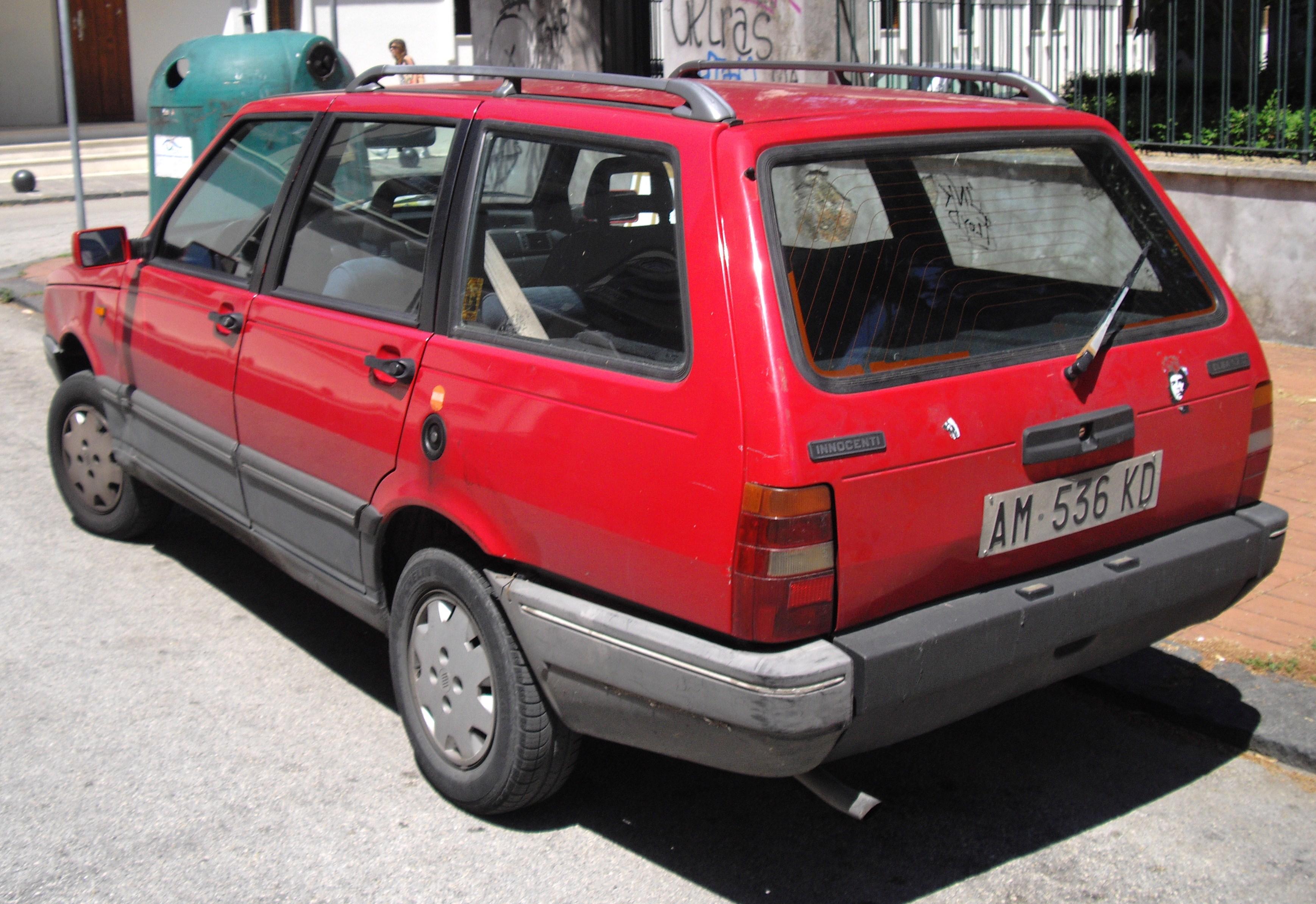 Innocenti Elba Estate (1 generation) 1.6 MT (76hp) Auto Fiche technique, prix