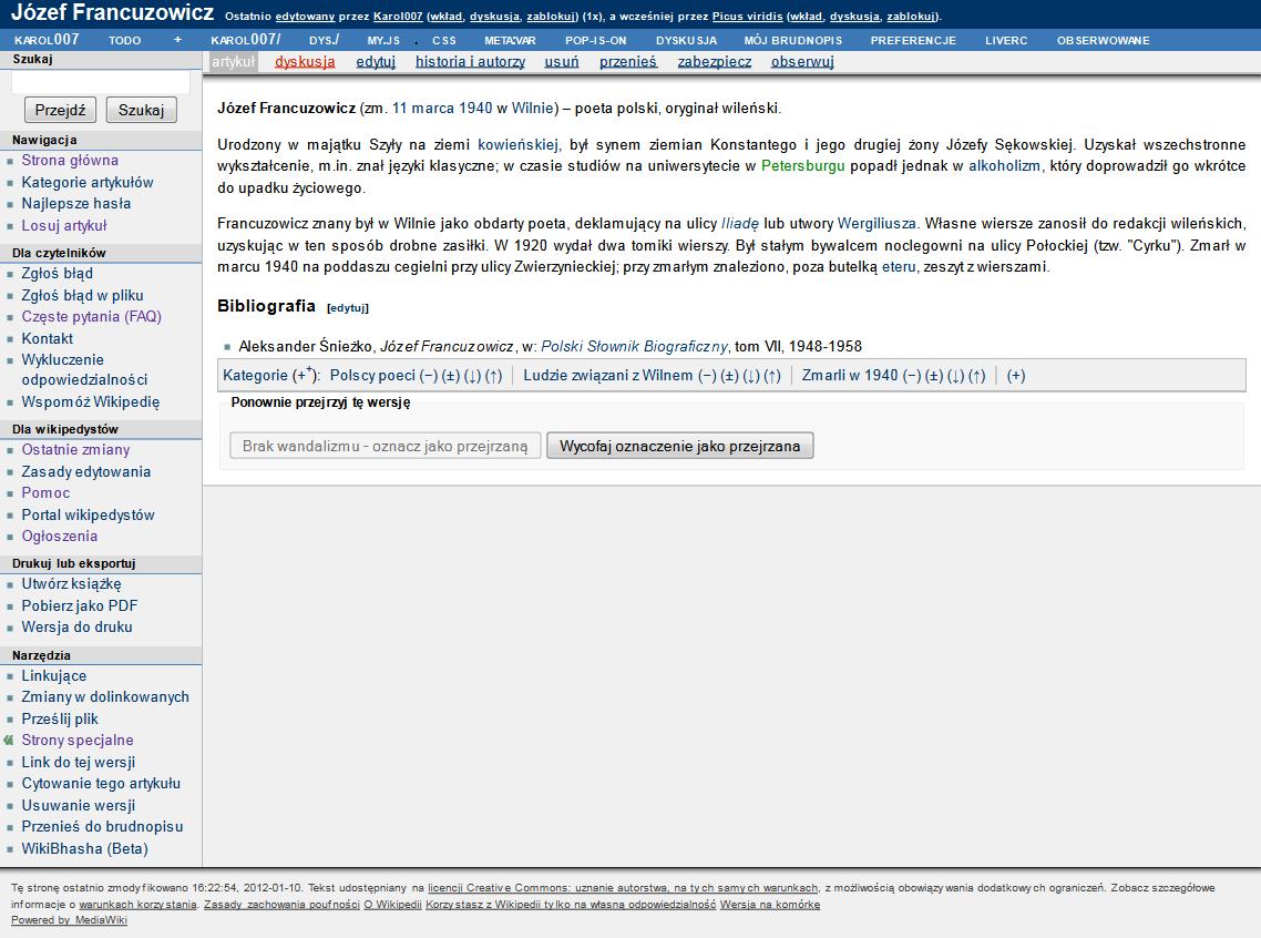 File:Józef Francuzowicz Polish Wikipedia article Modern skin