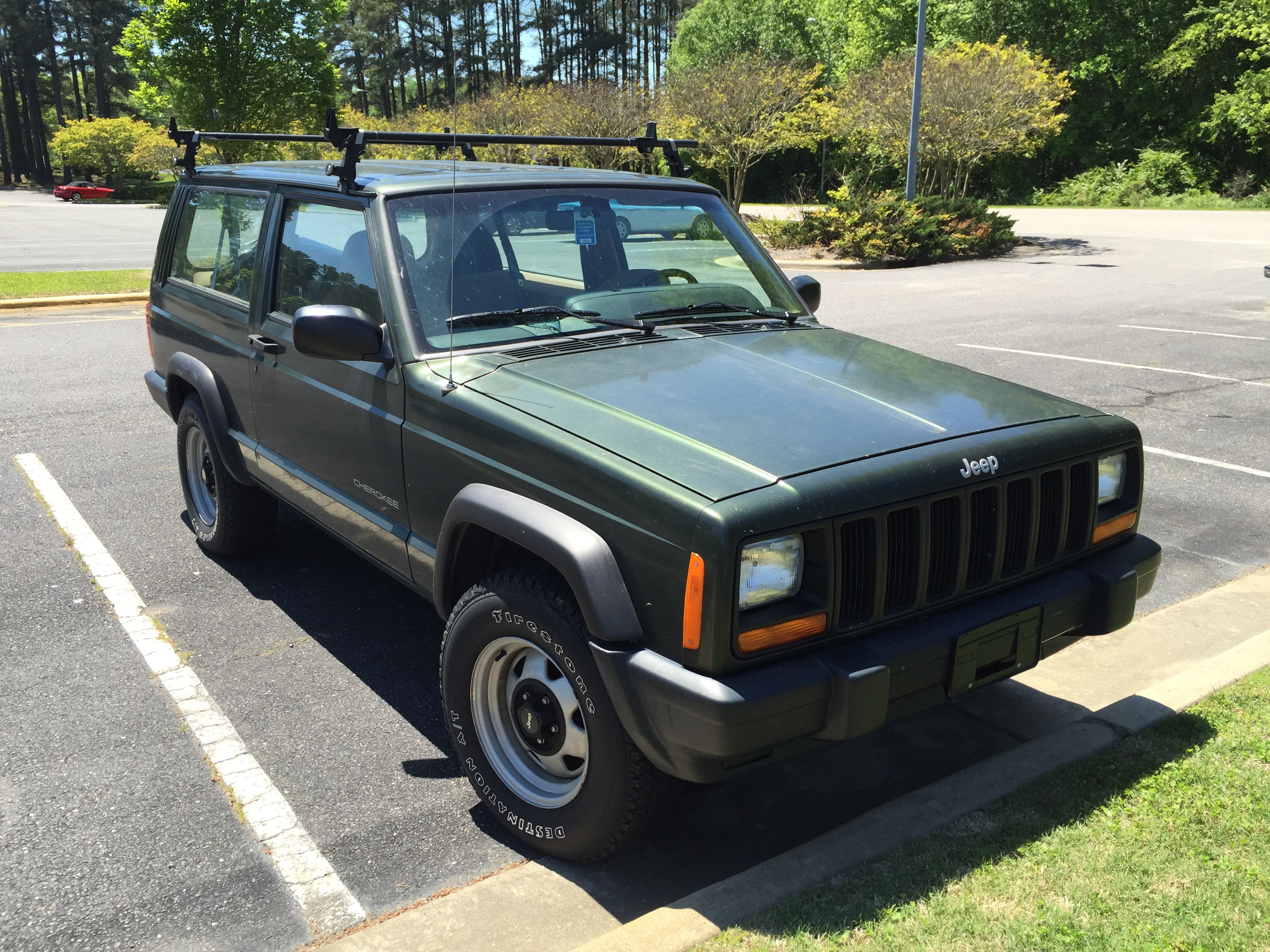 Jeep cherokee xj 1997