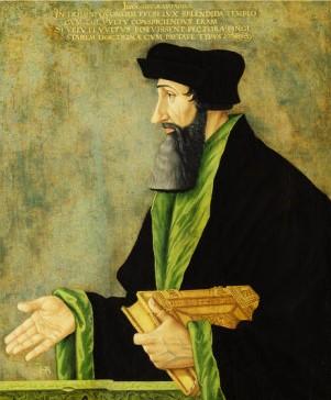Johannes Oecolampadius by Asper