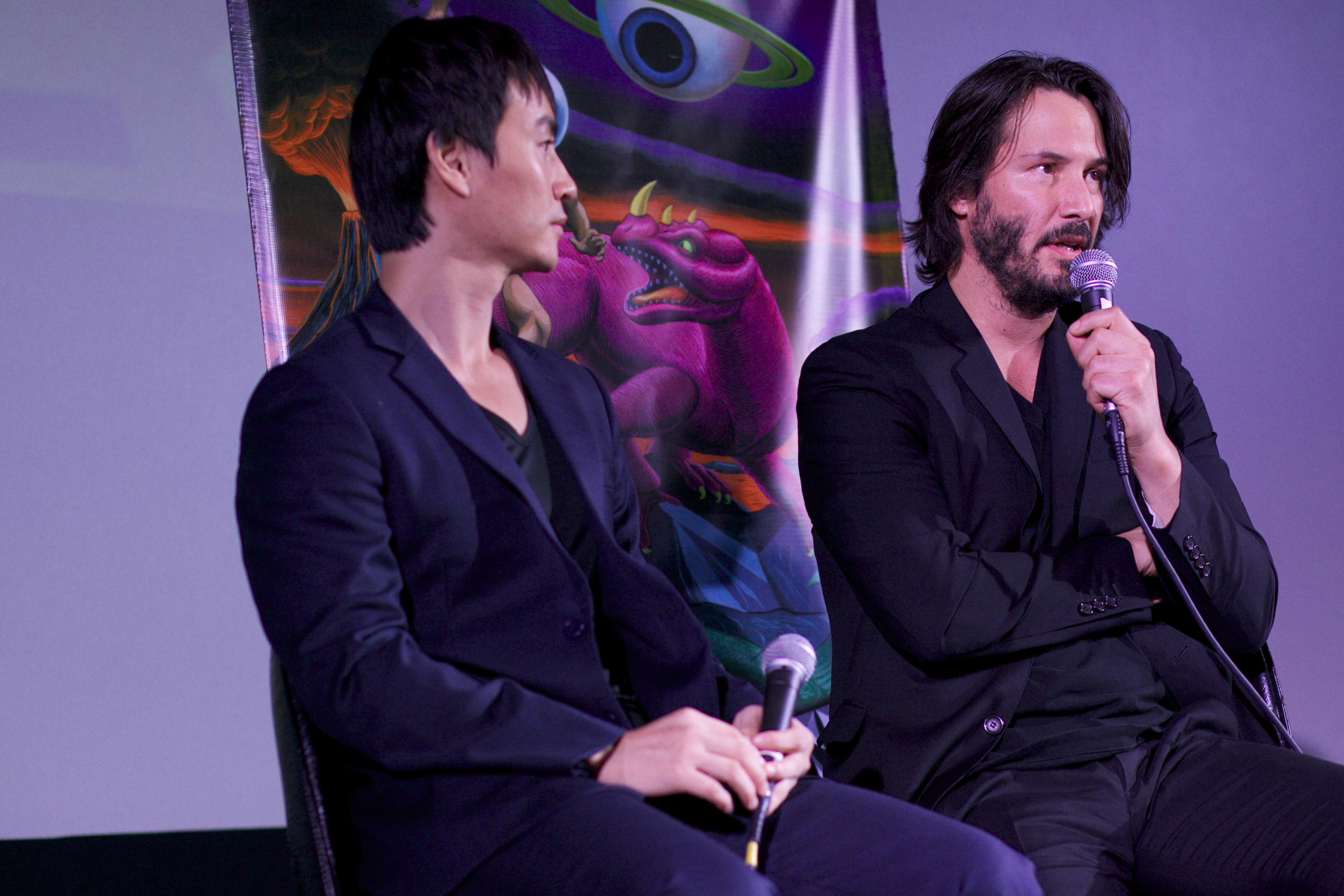 File:Keanu Reeves & Tiger Chen (10615170755).jpg