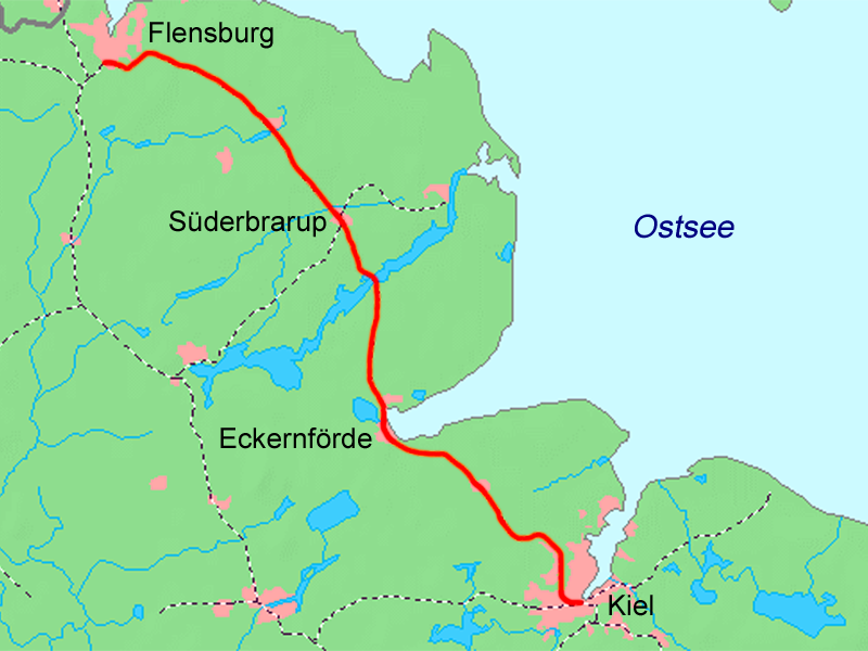 flensburg karte Datei:Kiel   Flensburg Karte.png – Wikipedia