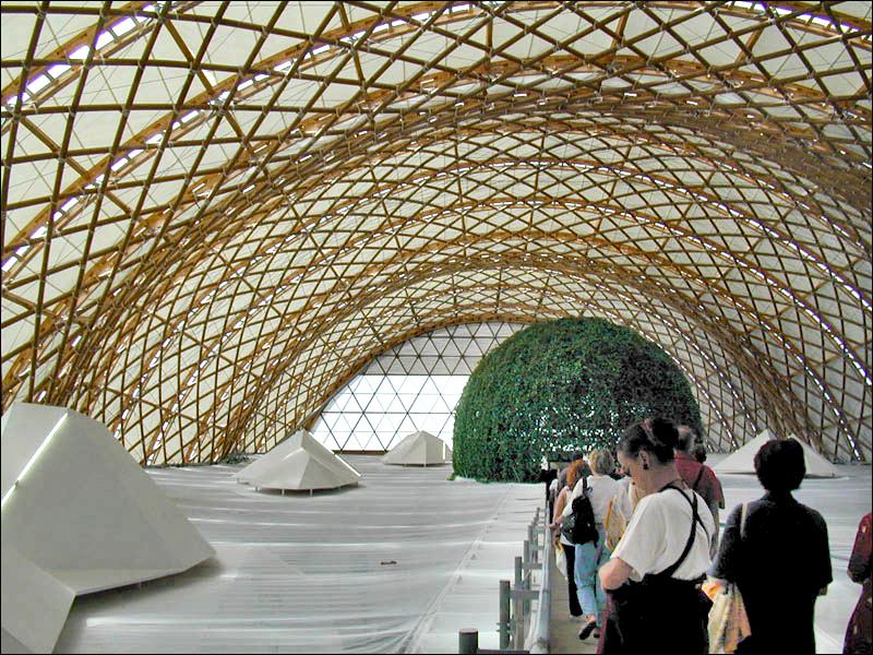 La pavillon du Japon (Expo. universelle de Hanovre 2000) (4936016394)