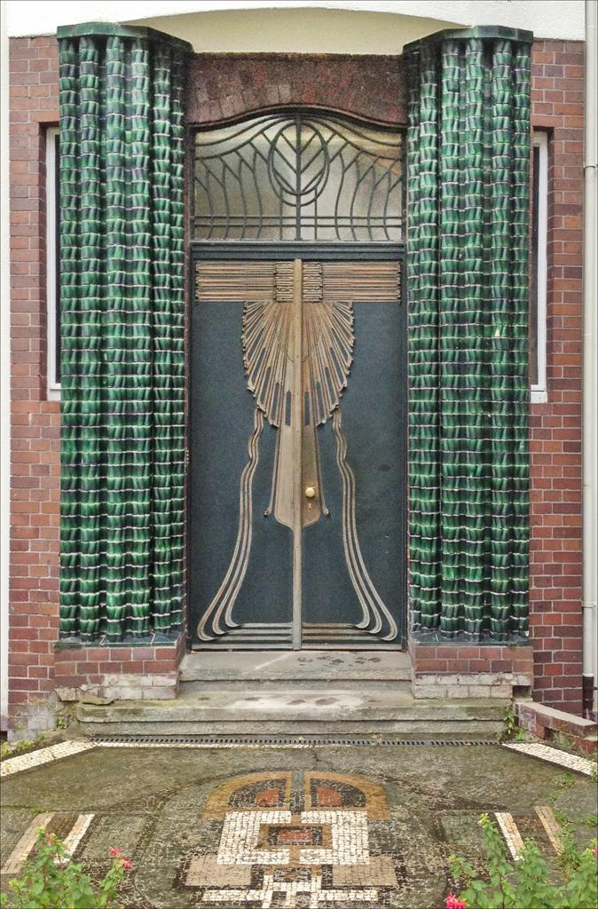 File La Porte Dentr 233 E De La Maison De Peter Behrens