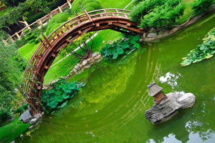 How To Build Japanese Garden Bridges Outside Of Japan