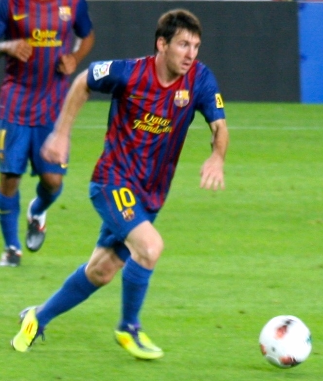 Lionel Messi had an uncharacteristically quiet game for Barcelona, as Chelsea's resolute defending, the heavy rain and an injury prevented him from playing at his best on Wednesday. (Jeroen Bennink/Wikimedia Commons)