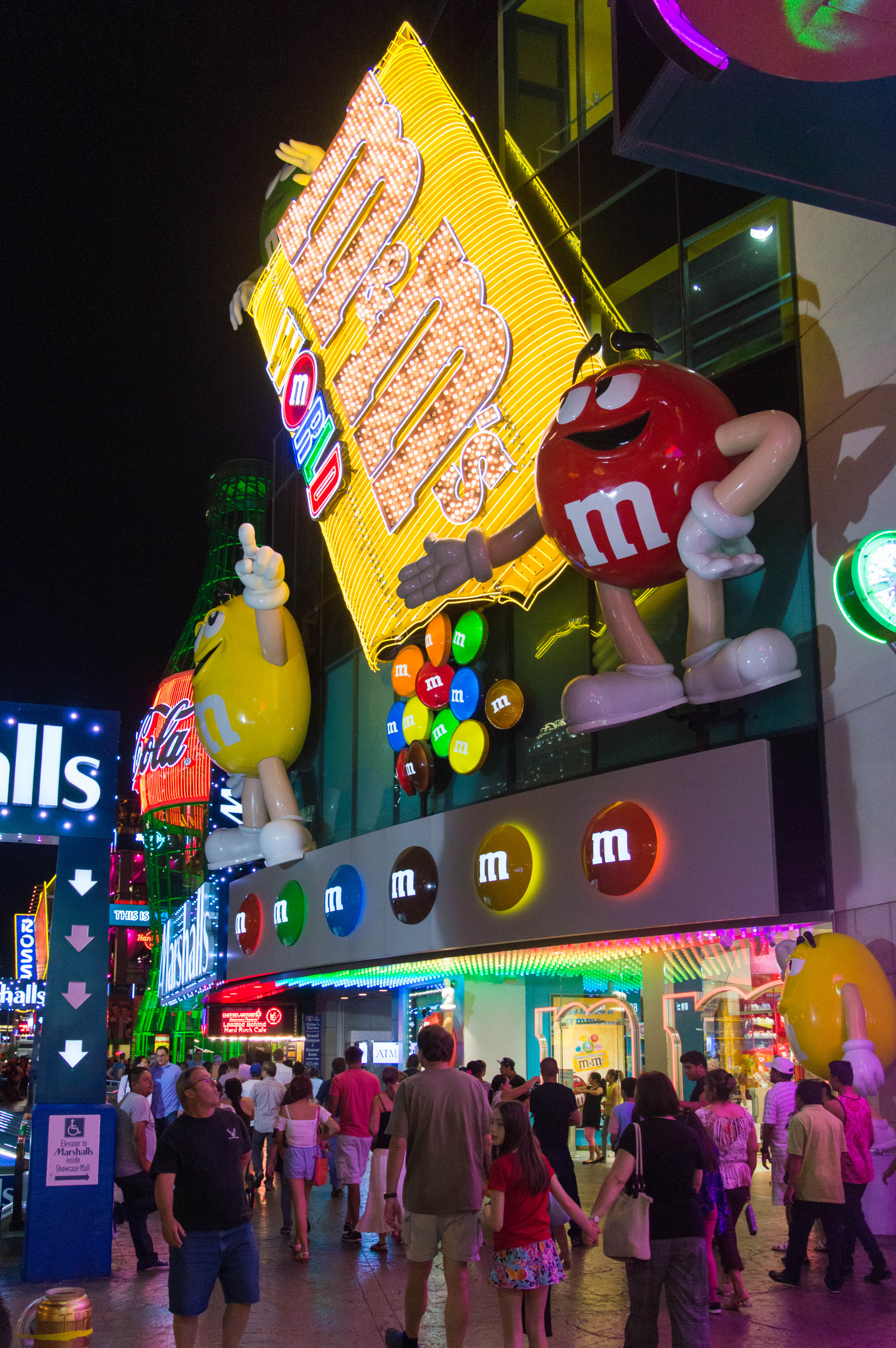 File:M&M's World, Las Vegas.jpg - Wikimedia Commons