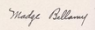 Madge Bellamy signature - Feb 1921.png