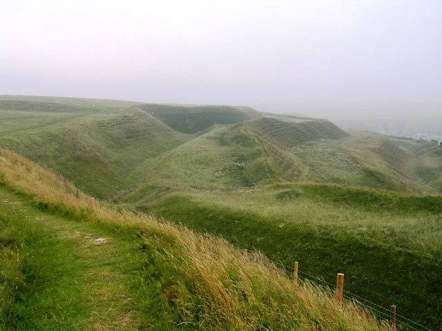Maiden Castle - geograph.org.uk - 363694