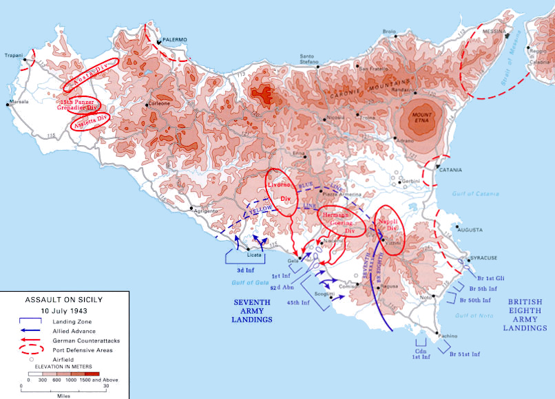 Allied invasion of Sicily - Wikipedia