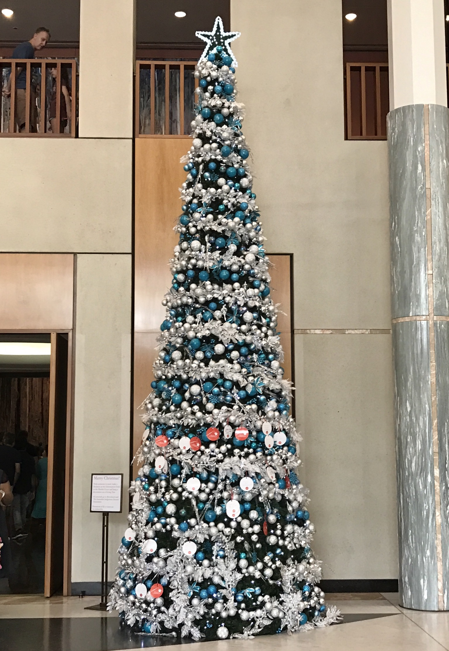 Parliament House Marble Foyer : File marble foyer with christmas tree parliament house