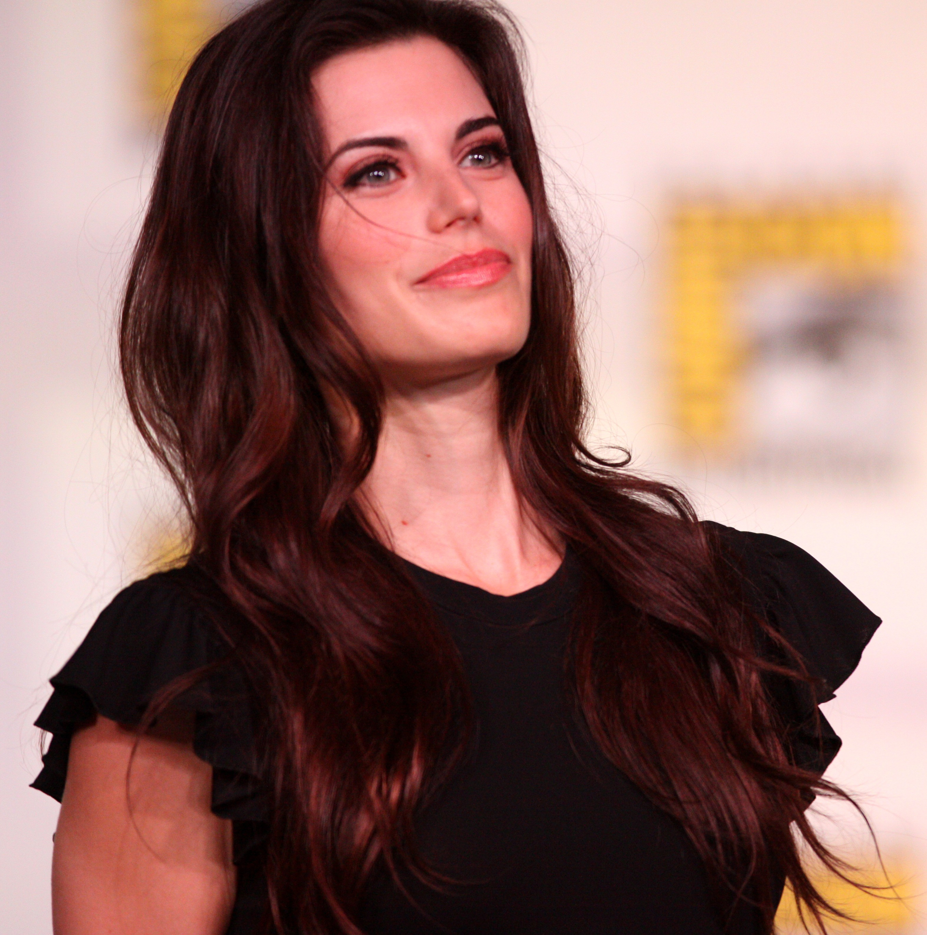The 36-year old daughter of father (?) and mother(?) Meghan Ory in 2018 photo. Meghan Ory earned a  million dollar salary - leaving the net worth at 2 million in 2018