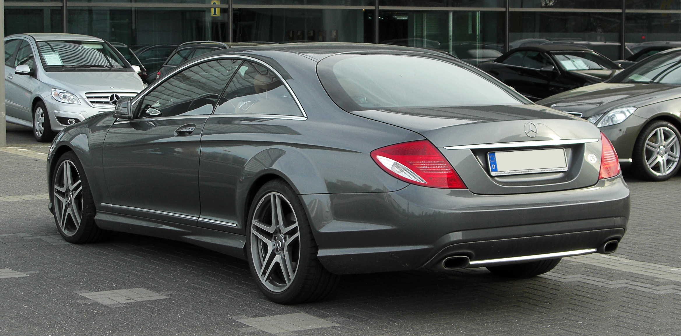 Image gallery mercedes c 500 for Mercedes benz cls 500 amg