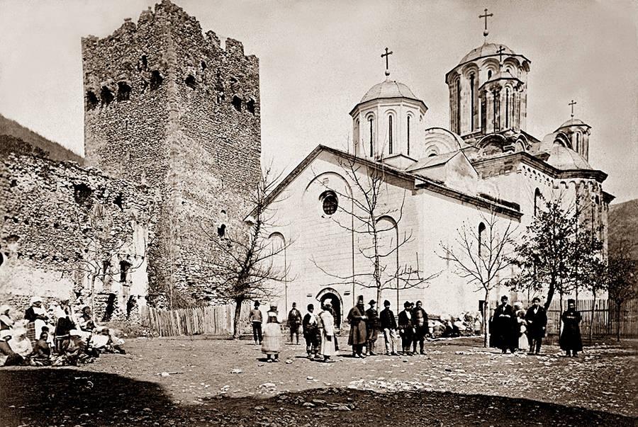 Manastiri Srbije - Page 2 Monastery_Manasija%2C_1875