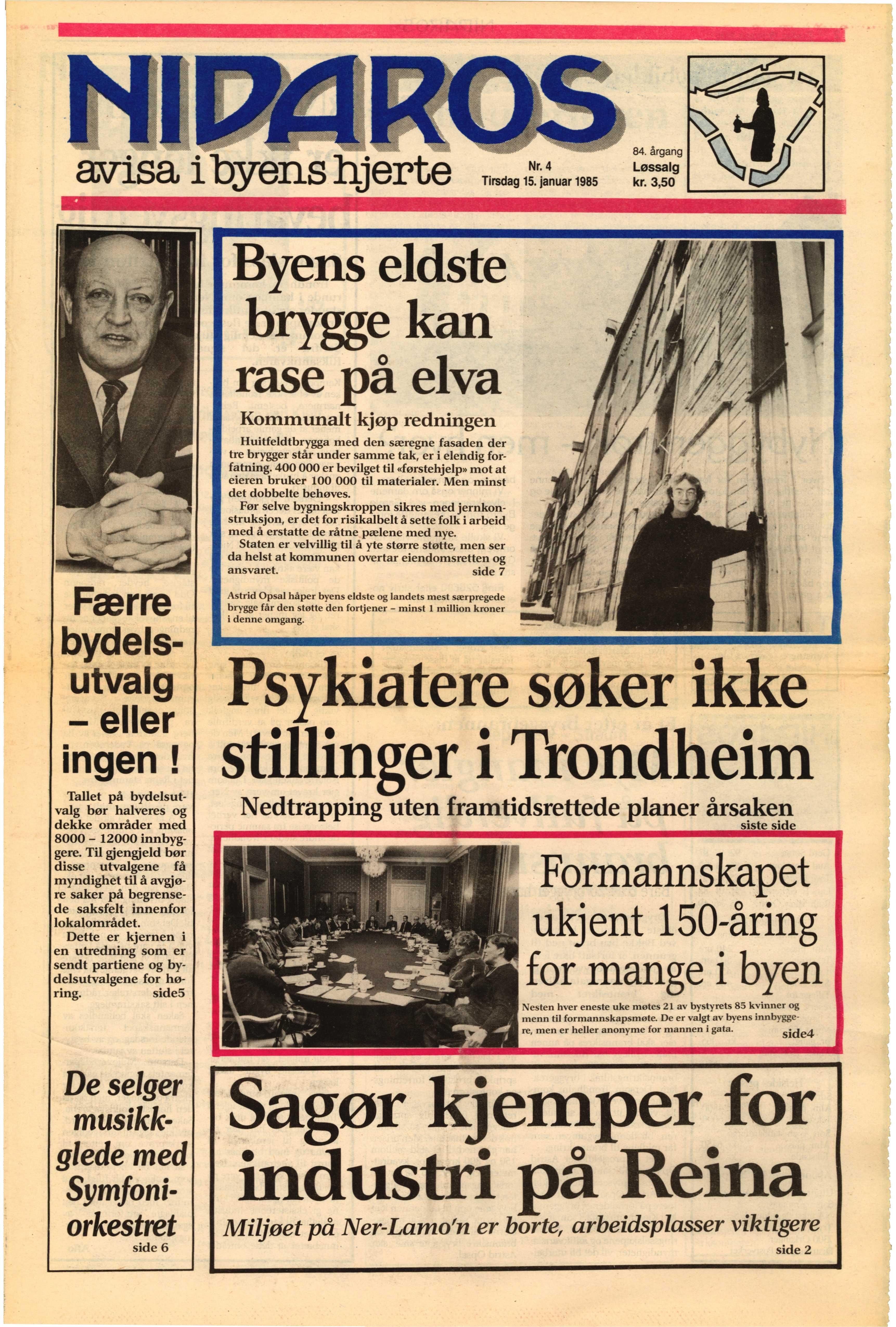 Norska dagstidningar