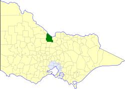 Shire of Rochester Local government area in Victoria, Australia