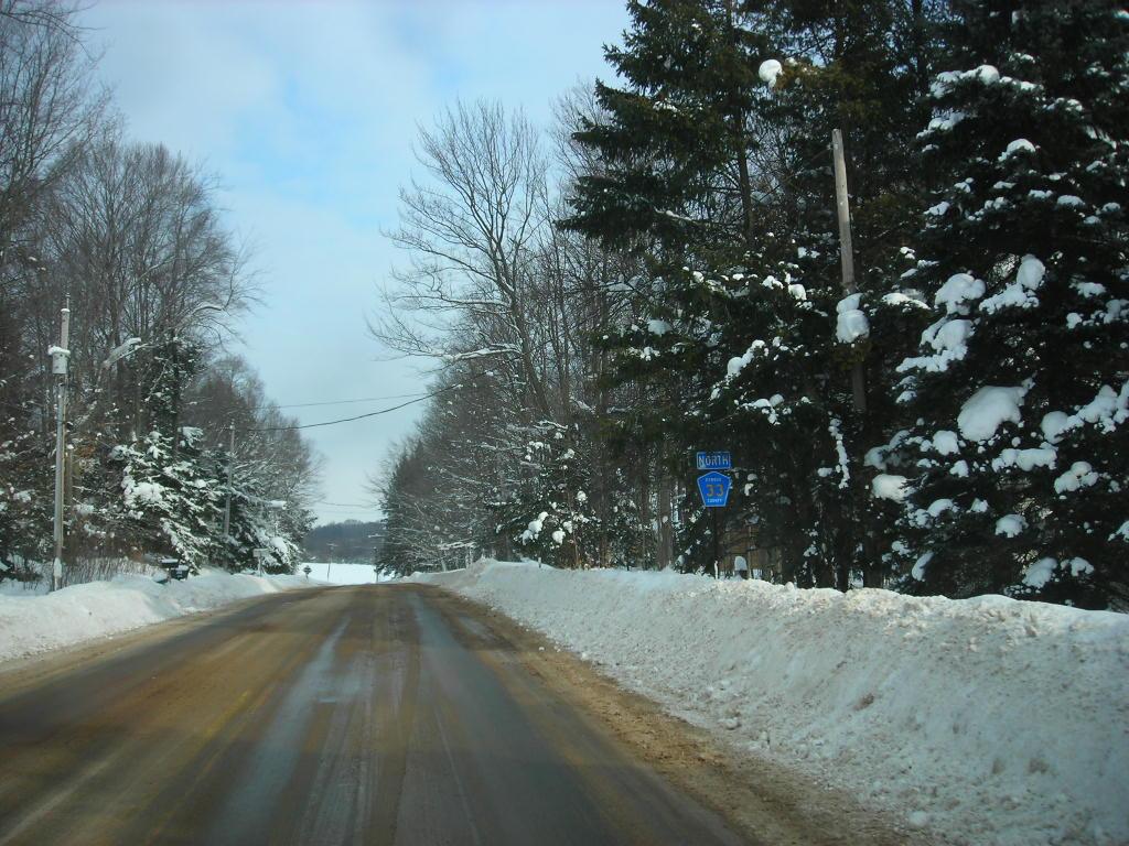 Oswego NY Road