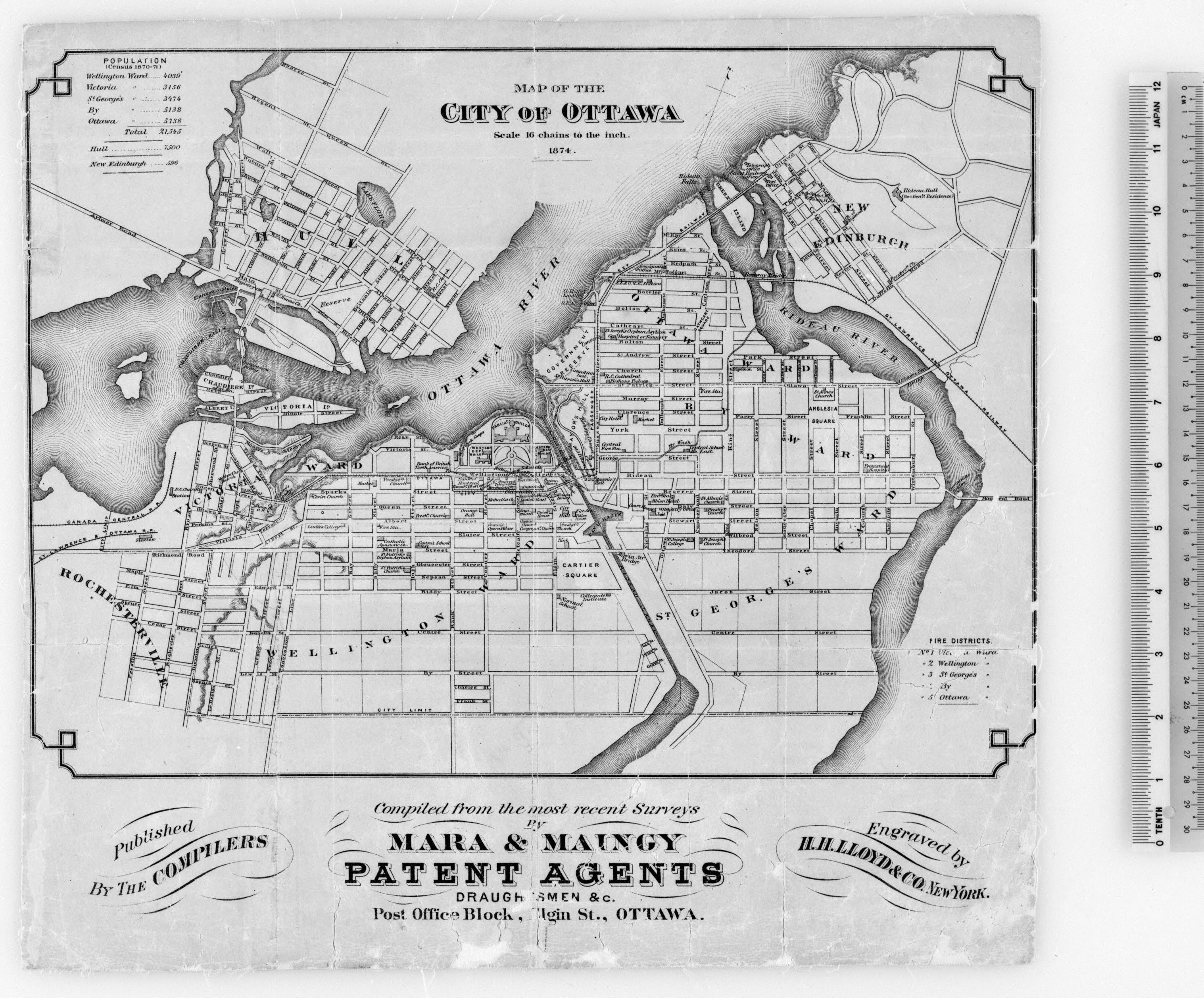 File Ottawa Map 1874 Png Wikimedia Commons