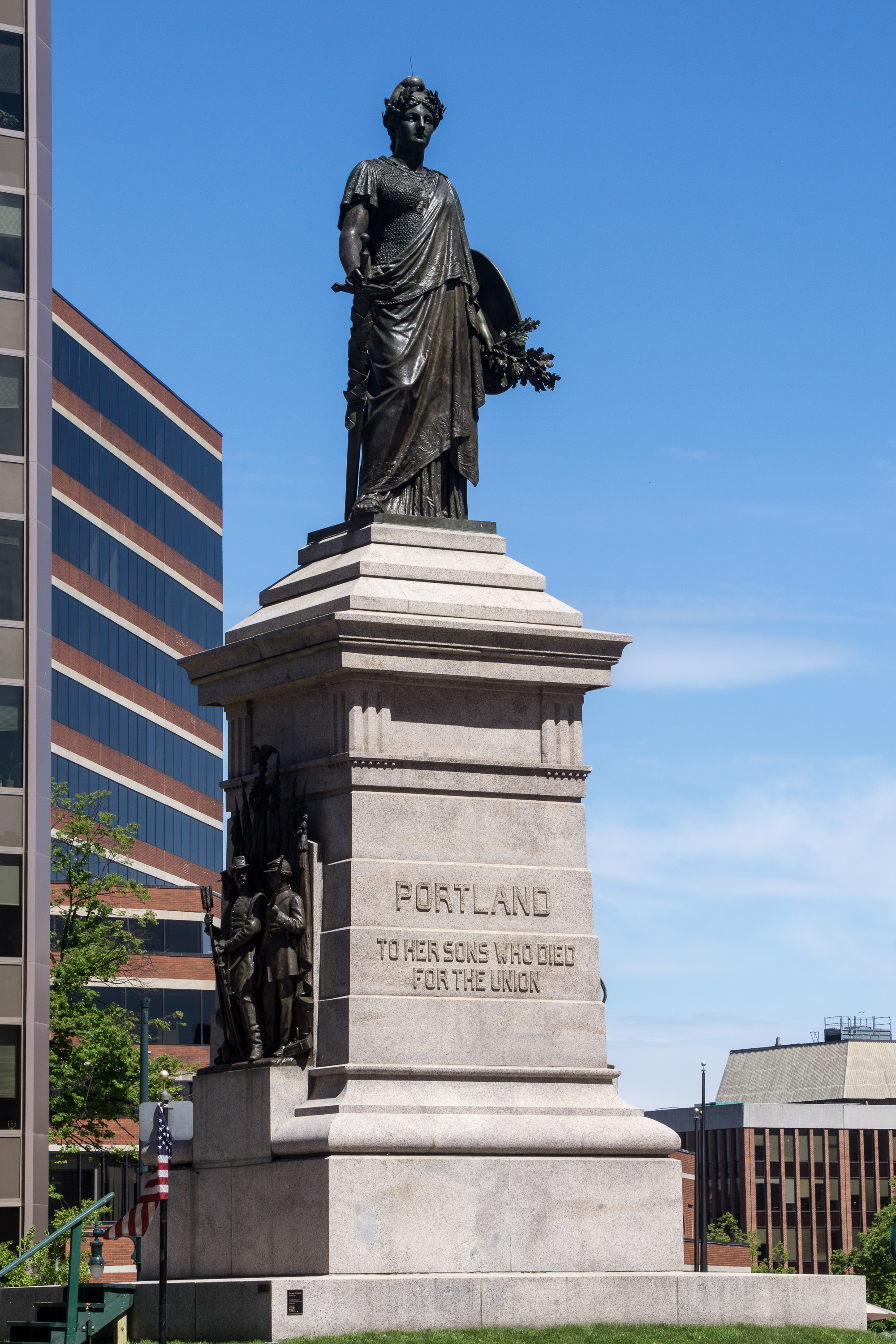 File Our Lady of Victories statue Portland Maine Wikimedia