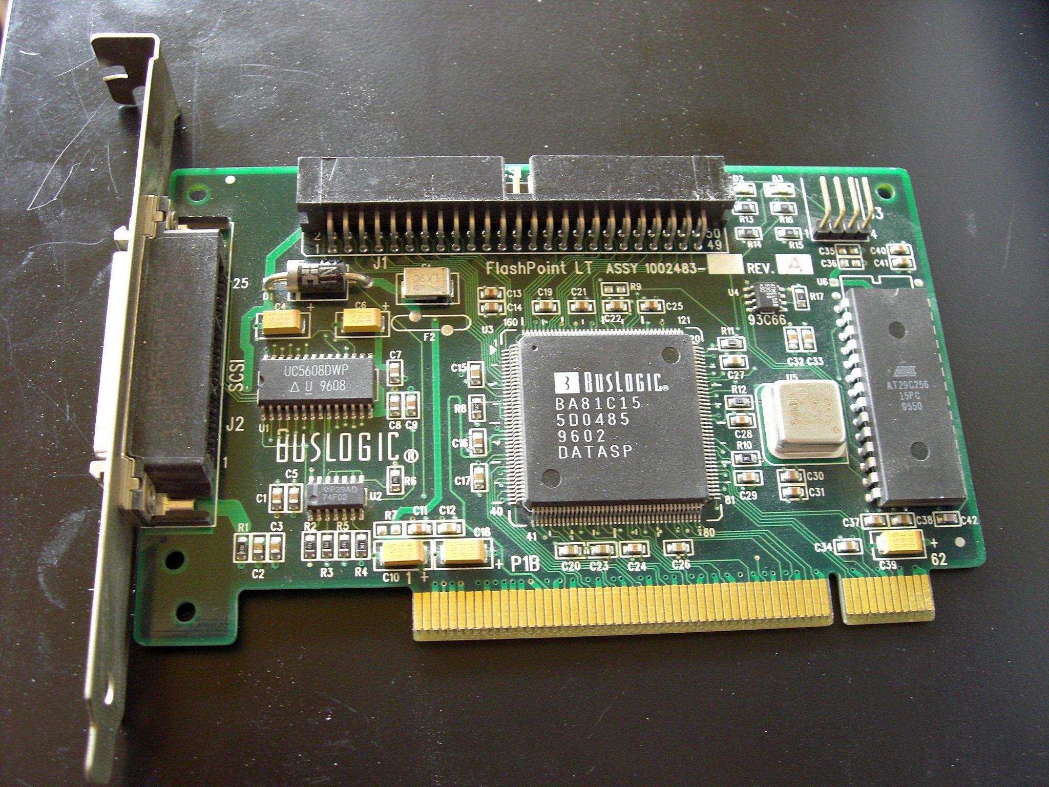BUSLOGIC SCSI CONTROLLER DRIVER UPDATE