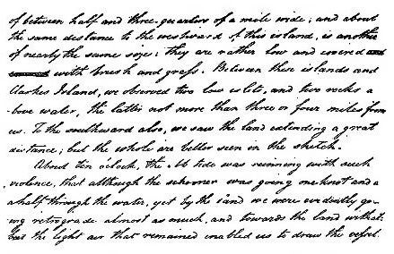 Page 174 narrative (The Life of Matthew Flinders).jpg