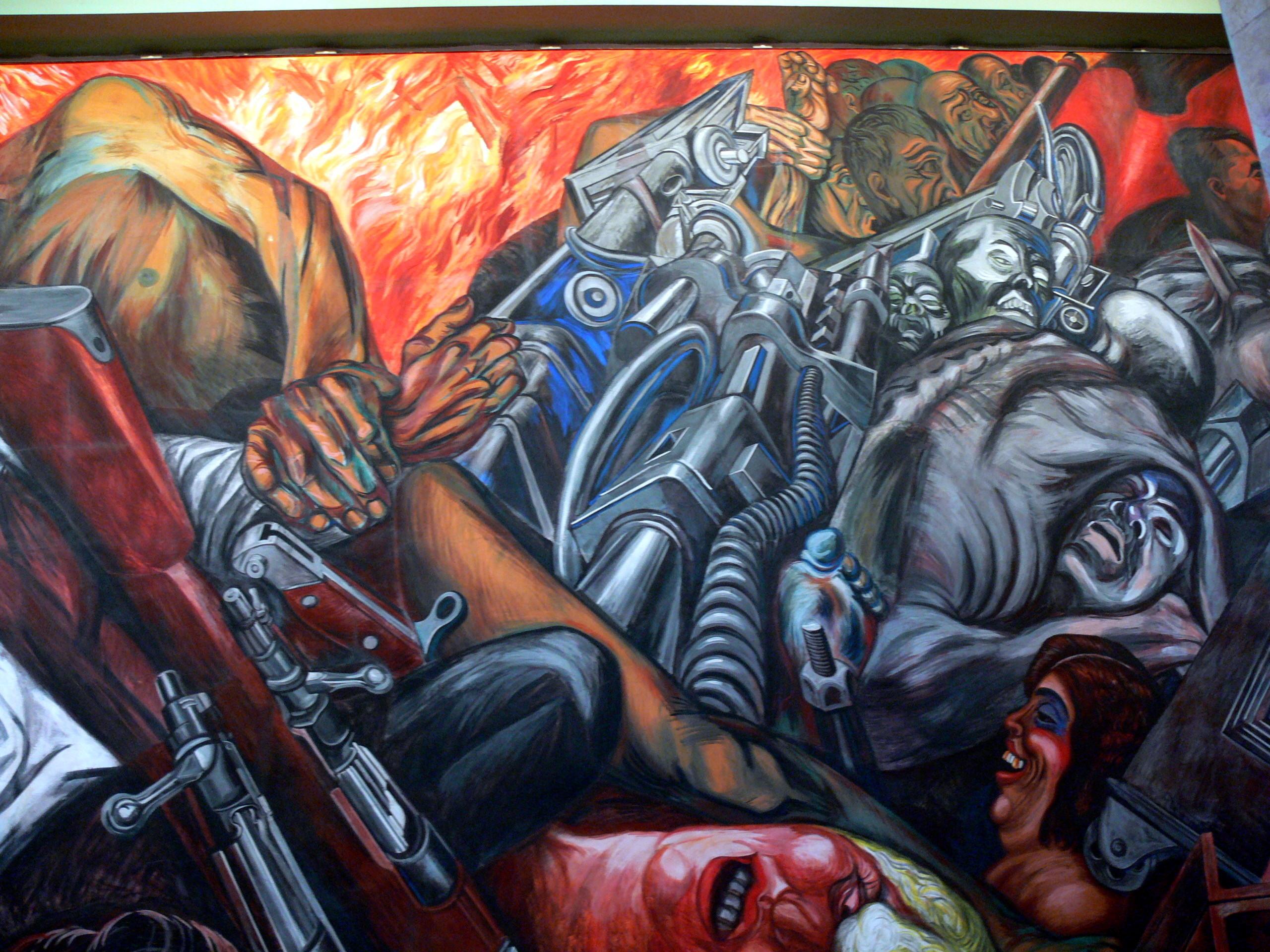 Pin mural de clemente orozco guadalajara on pinterest for El mural guadalajara