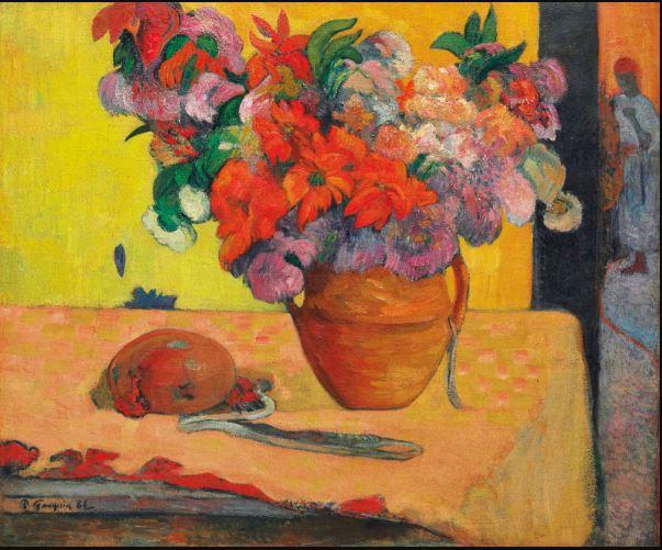 Paul Gauguin Fleurs dans un vase