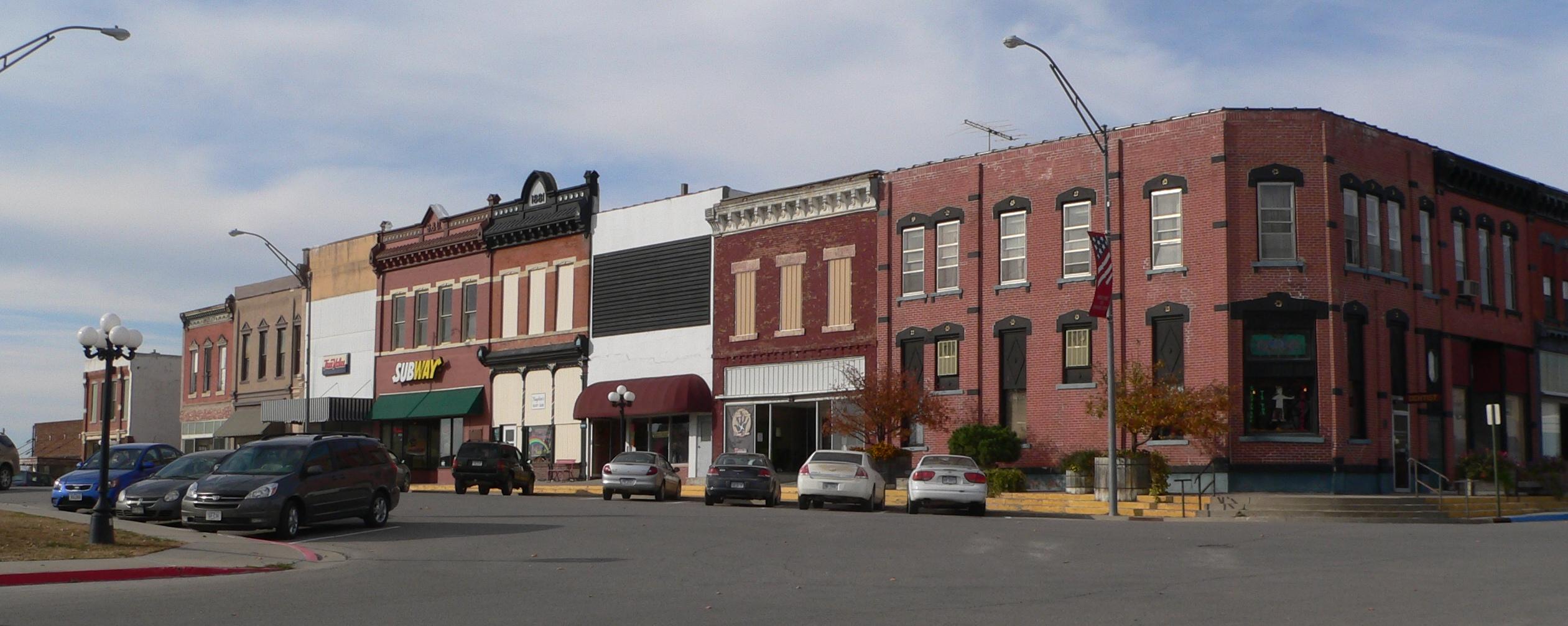 Pawnee City Nebraska >> File Pawnee City Nebraska 6th From G Jpg Wikimedia Commons