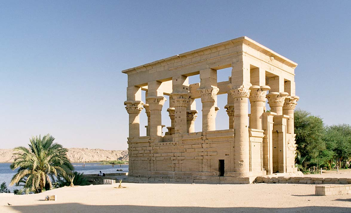 Trajans Kiosk at Philae (New site after the construction of Aswan Dam)