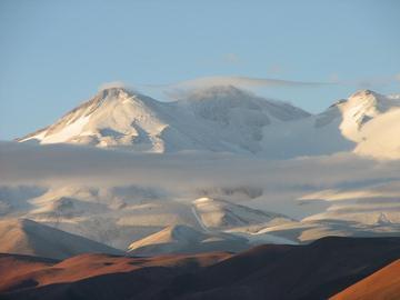 Los volcanes en Argentina