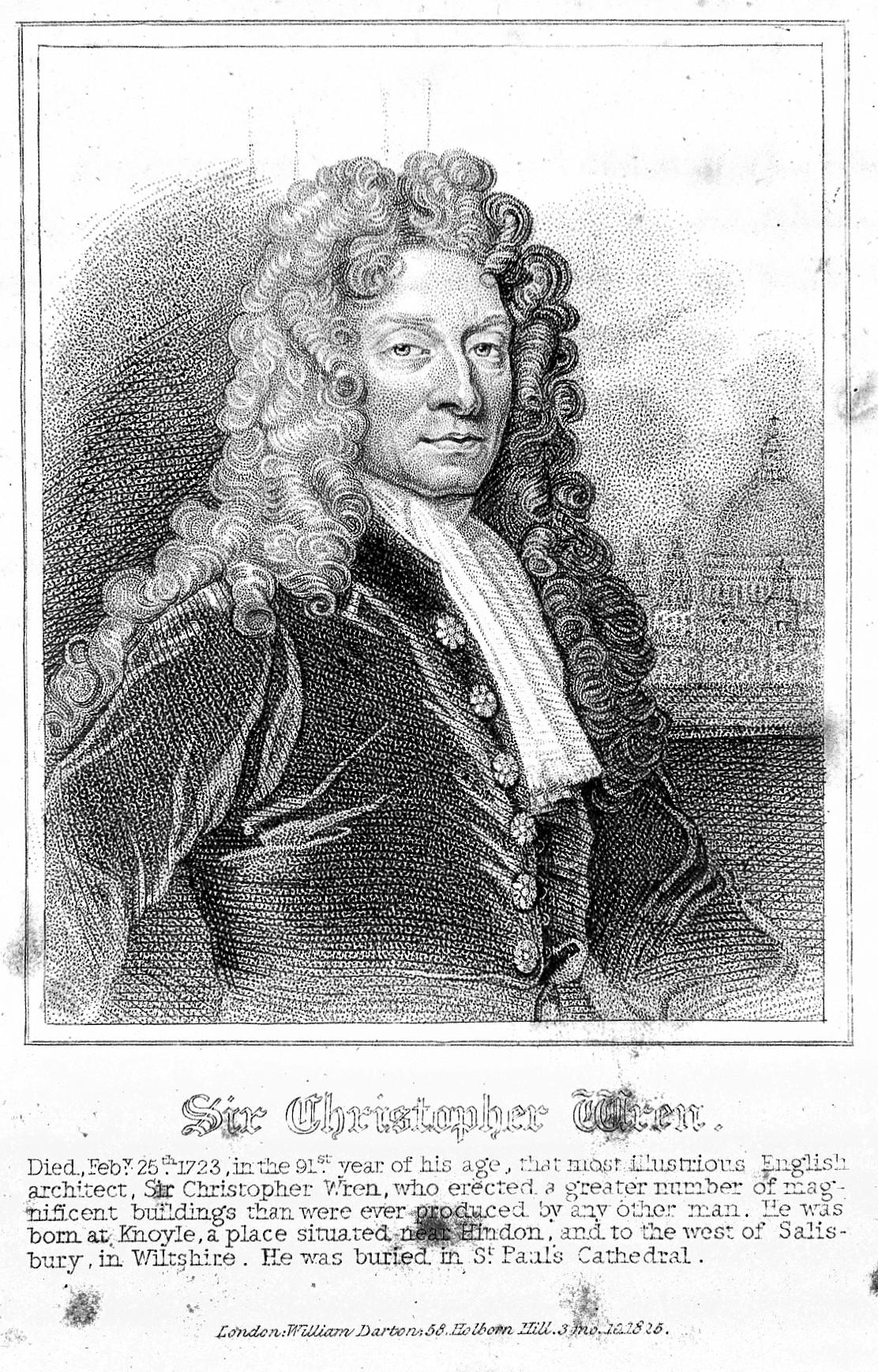 File:Portrait of Sir Christopher Wren Wellcome L0019491.jpg ...