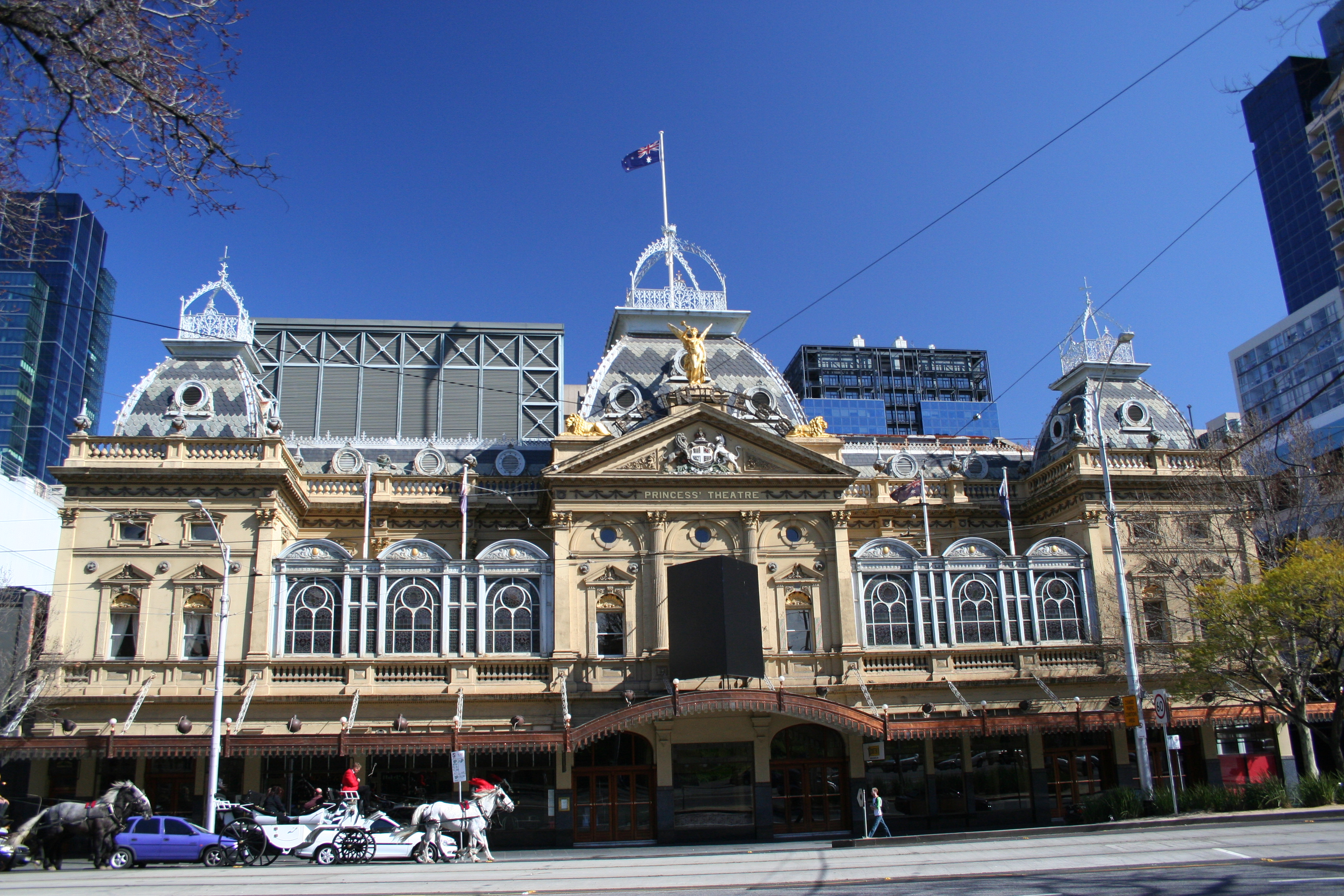 Princess Theatre Melbourne Australia 3456 x 2304