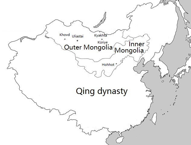 Mongolia under Qing rule - Wikipedia