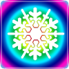Rainbow outide snowflake reversed.png